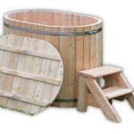 MINI BALIA JACUZZI OGRODOWE 2 OSOBOWE drewniane