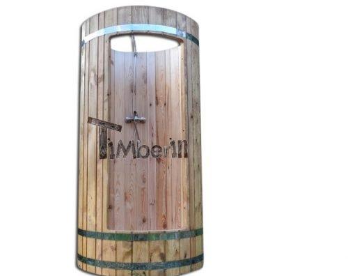 Zewnętrzny drewniany prysznic - TimberIN