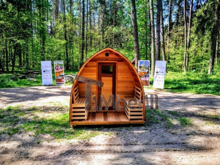 Sauna Ogrodowa Diy