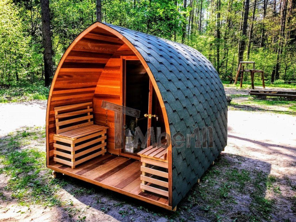 Sauna zewnętrzna ogrodowa